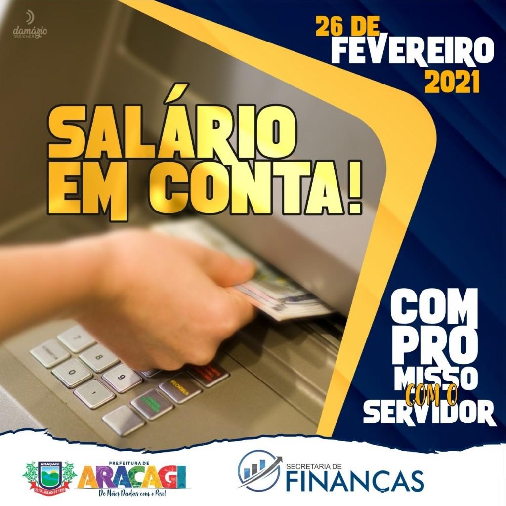 Prefeitura de Araçagi realiza pagamento de funcionários nesta sexta-feira (26)