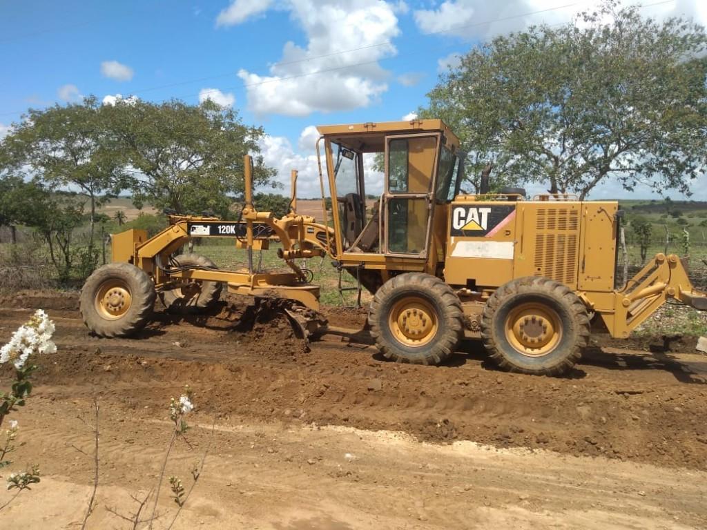 A TODO VAPOR: Prefeitura de Araçagi realiza a melhoria das estradas do nosso município
