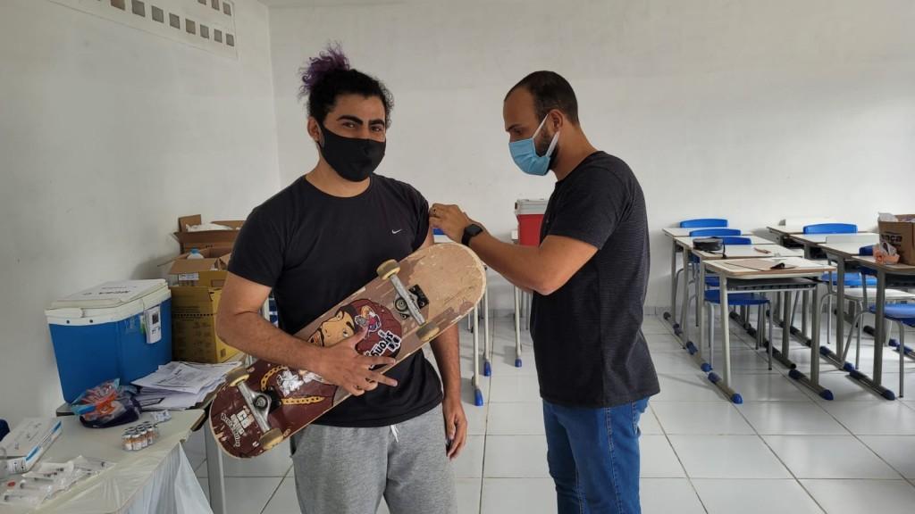 Dia D de vacinação contra a COVID-19 20+ vacinou mais de 360 pessoas em Araçagi